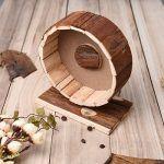 Bestmemories Wooden Exercise Wheel