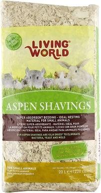 Living World Wood Aspen Shavings