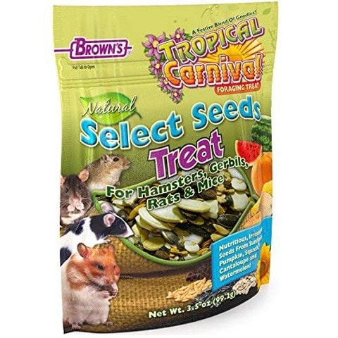 Brown's 450193 Tropical Carnival Seeds Treat