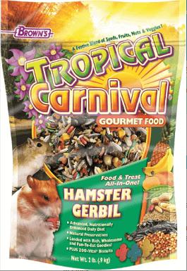 Brown's Tropical Carnival Gerbil