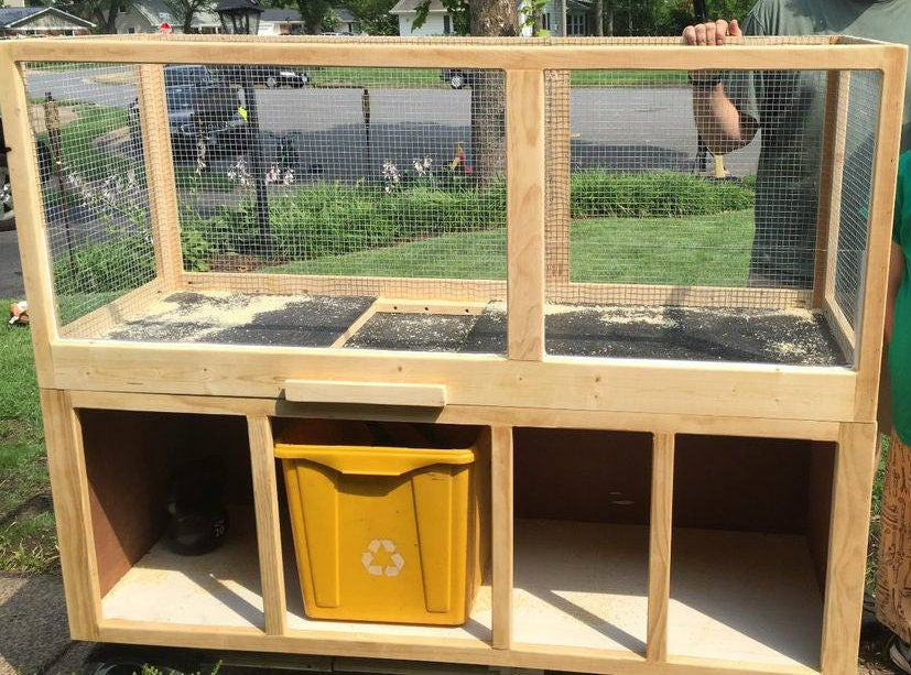 Build a Guinea Pig Cage With the Kids From Instructables Living