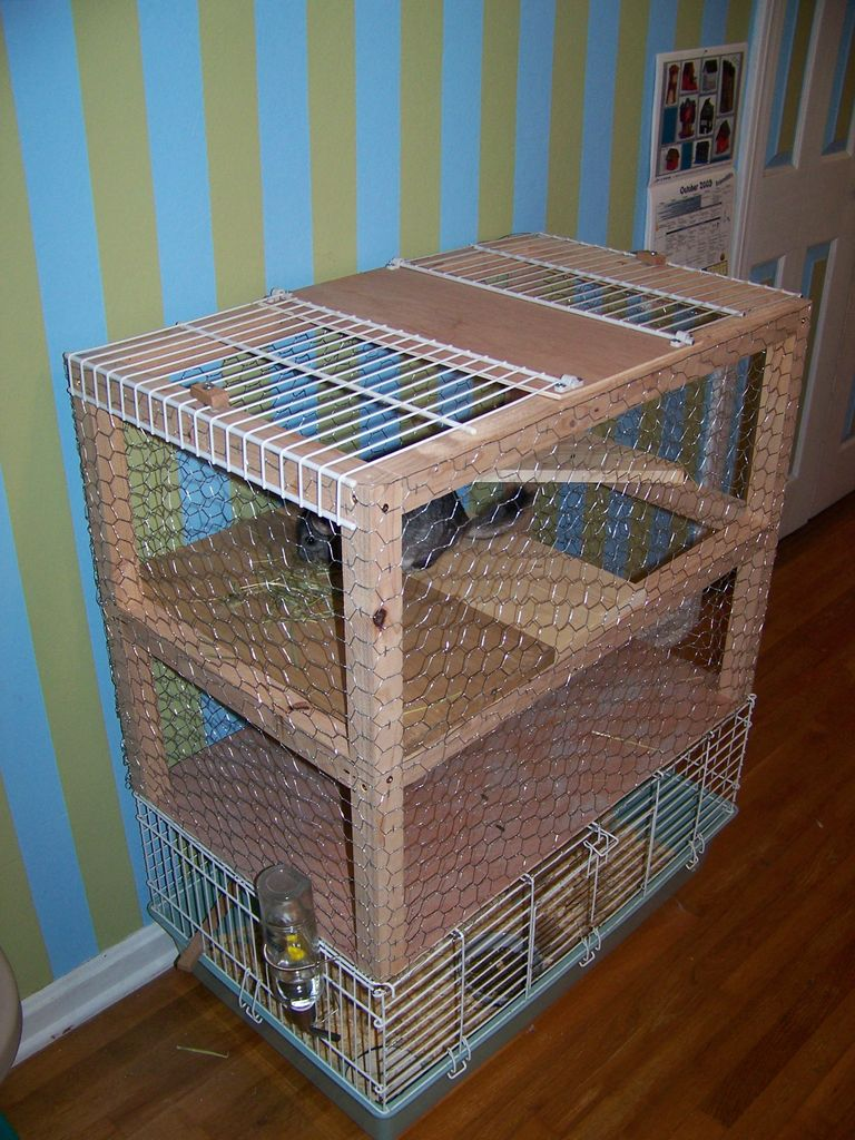 Chinchilla Cage From Instructables Living