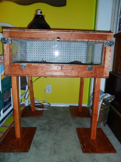 Custom DIY Reptile Enclosure Plans from Instructables