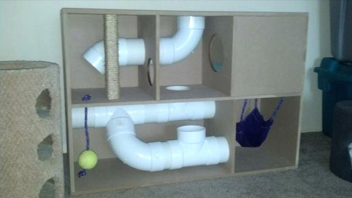 DIY Chinchilla Playhouse Plans from Pet DIYs