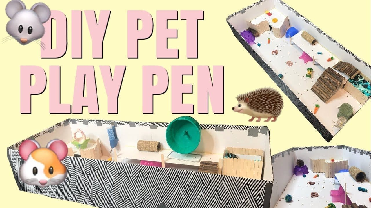 DIY Pet Play Pen From Emma Lynne Sampson