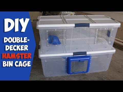Double Decker Cage by Hammy Time