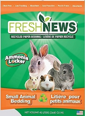 Fresh News Paper Small Animal Bedding