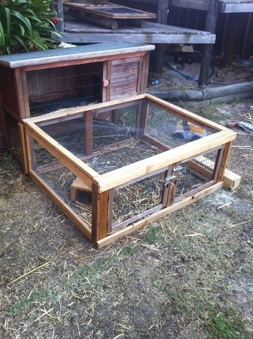 Guinea Pig Hutch and Extension Plans From Instructables Living