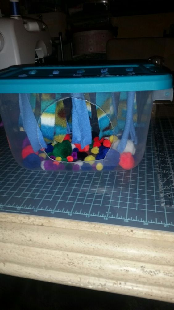 Hedgehog Fleece Forest and Ball Pit from Animal Babies