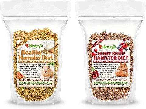 Henry's Hamster Food