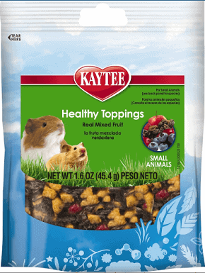 Kaytee Fiesta Healthy Toppings Mixed Frui