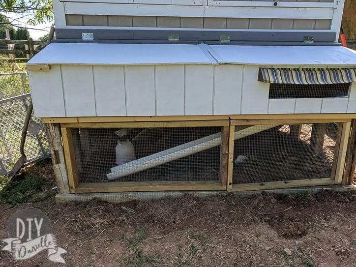 Outdoor Guinea Pig Cage by DIY Danielle