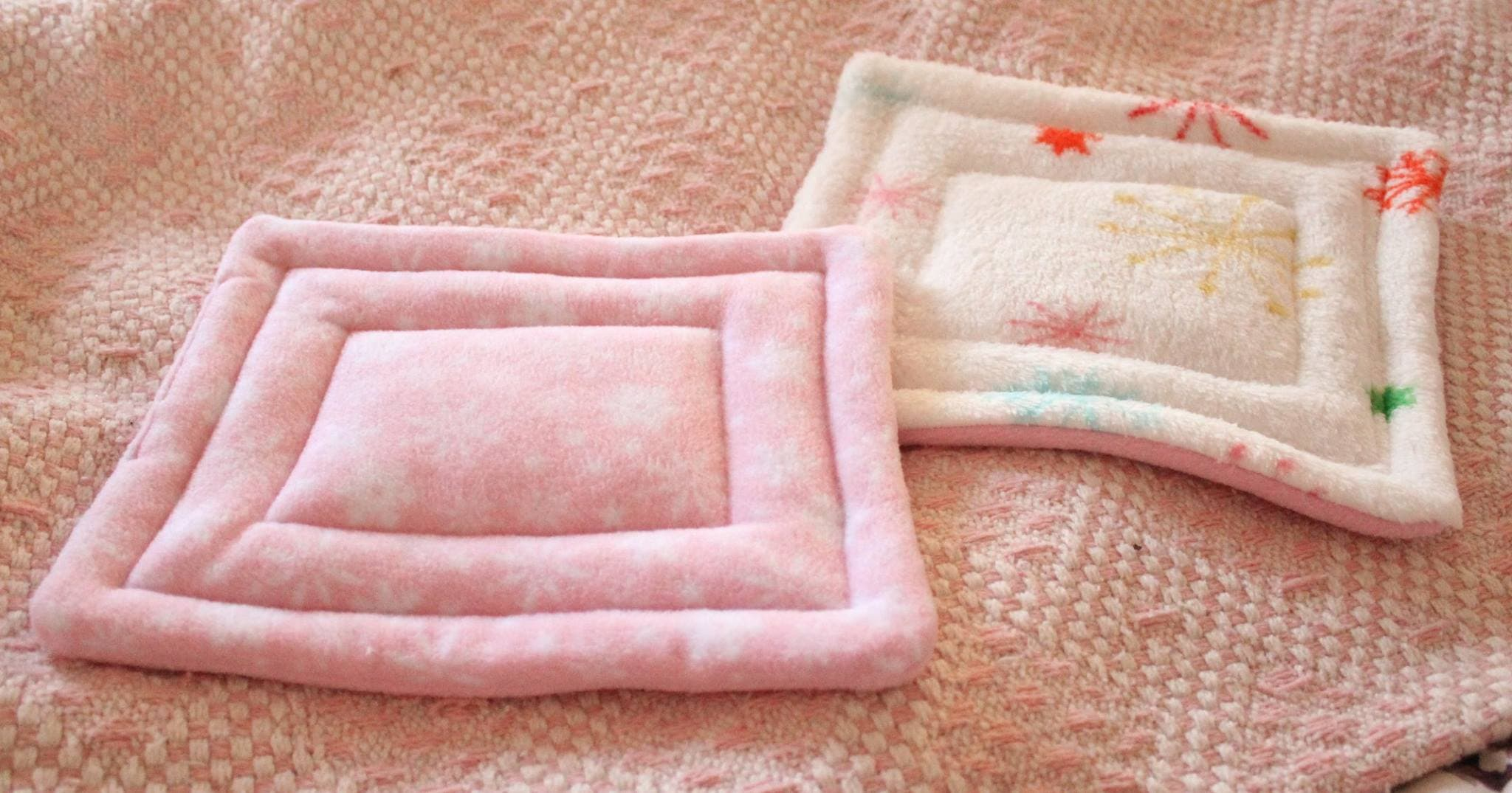 Plush Pillow DIY Guinea Pig Bed Plans from Sugar & Spice Piggies