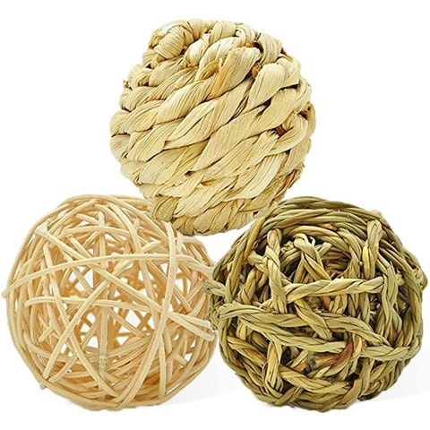 SunGrow Natural Balls Chew Toy