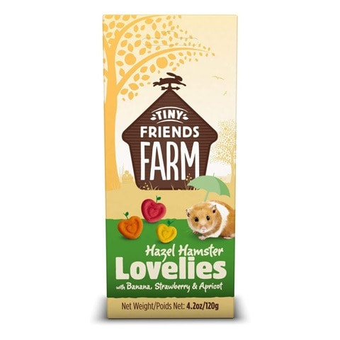 Supreme Tiny Friends Farm Lovelies Hamster Treats