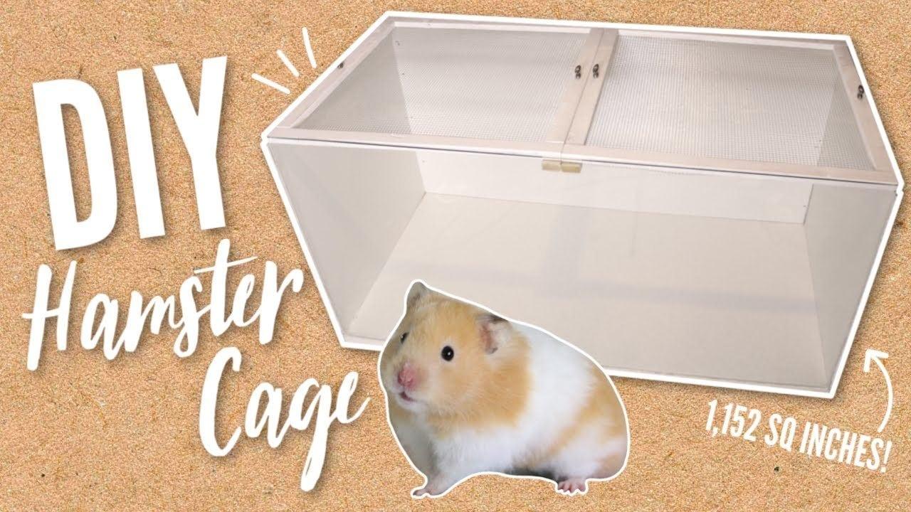 Victoria Raechel's Large DIY Hamster Cage