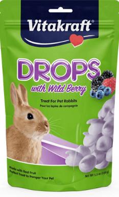 Vitakraft Drops with Wildberry Rabbit