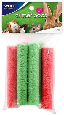 Ware Critter Pops Small Animal
