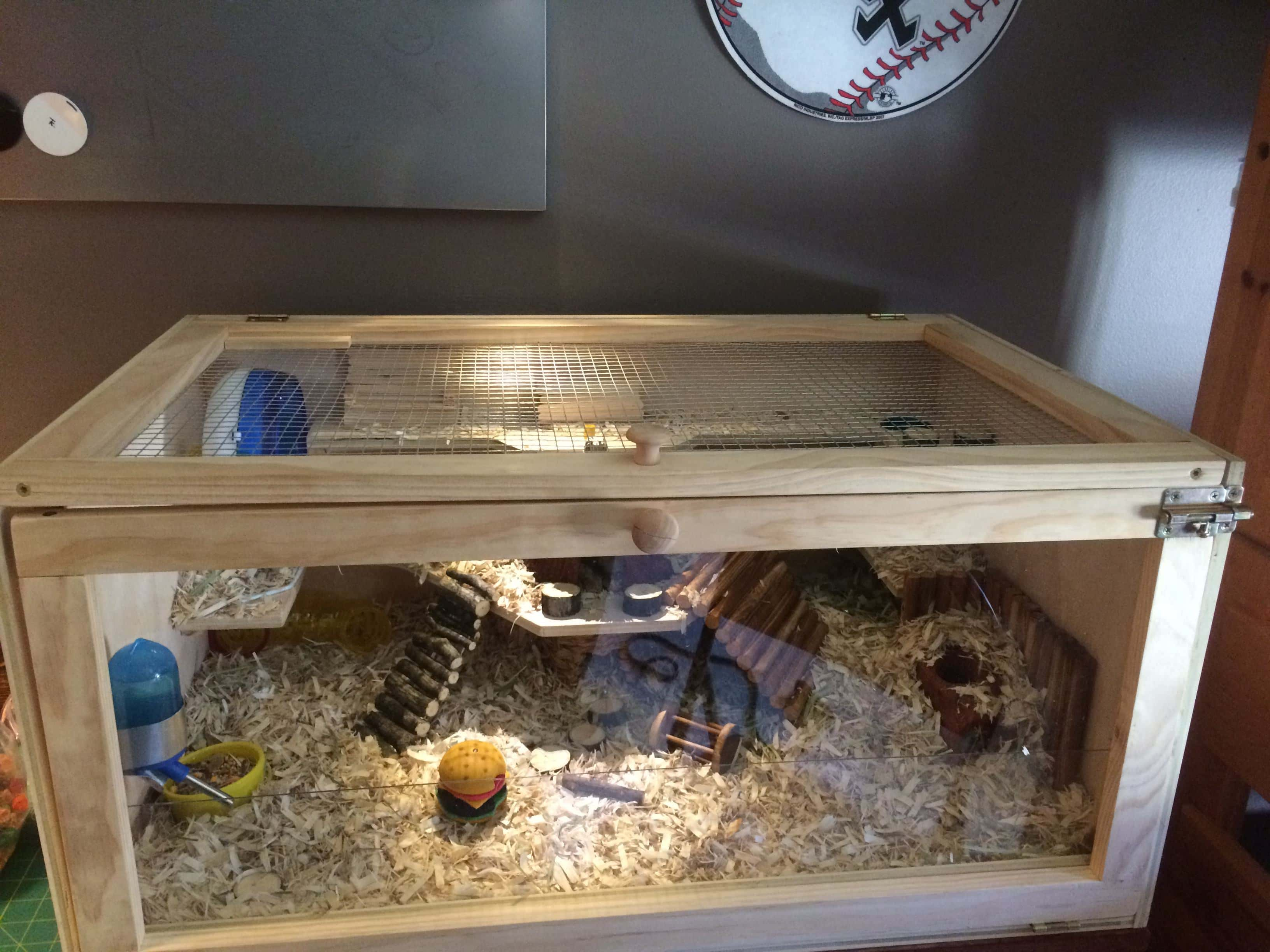 Wood Cage from HamsterHideout.com