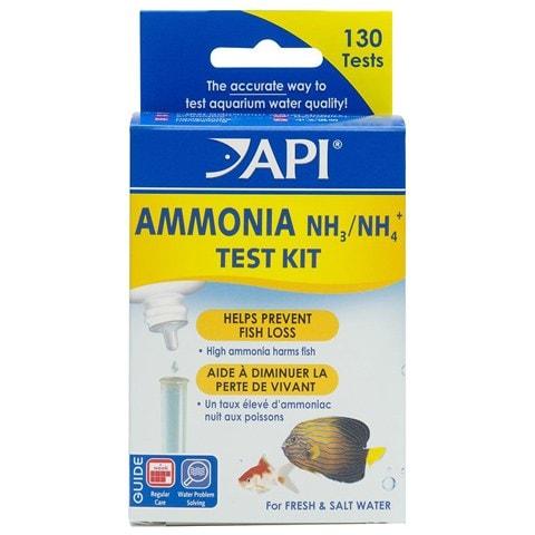 API Ammonia Freshwater & Saltwater Aquarium Test Kit