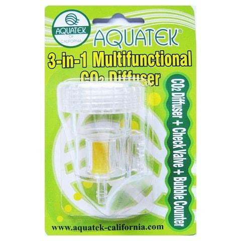 AQUATEK 3-in-1 CO2 Diffuser