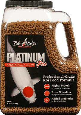 Blue Ridge Koi & Goldfish Platinum Pro