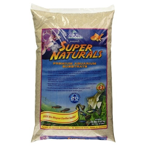 CaribSea Super Naturals Crystal River Freshwater Sand