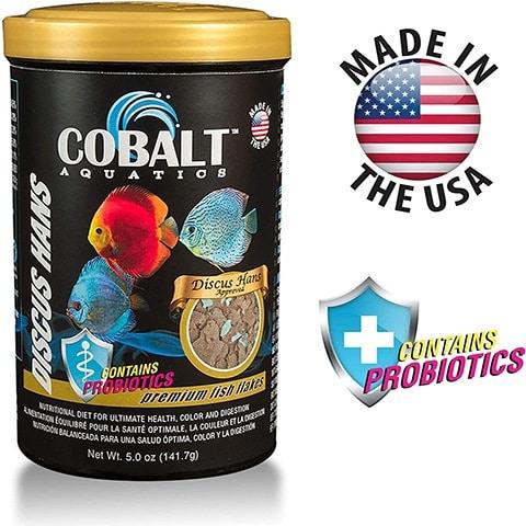 Cobalt Discus Hans Flakes