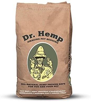Dr. Hemp All Natural Pet Bedding Bag, 8-Quart