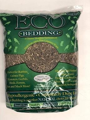 FiberCore Eco Bedding for Small Pet, 3 lb, Brown