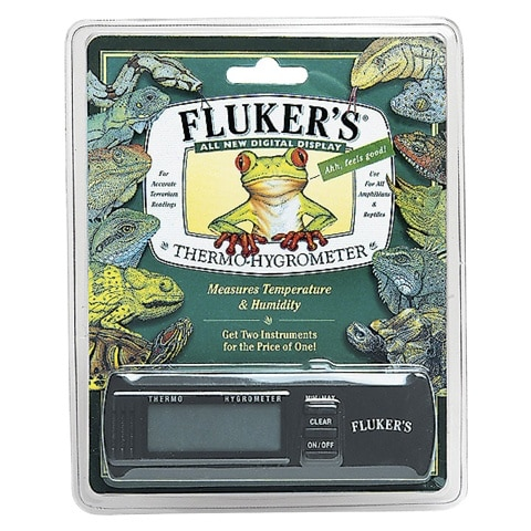 Fluker's Thermo-Hygrometer Digital