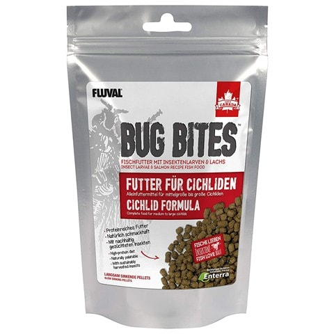 Fluval Bug Bites Pellets for Cichlids