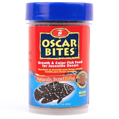 HBH Pisces Pros Oscar Bites Color Fish Food