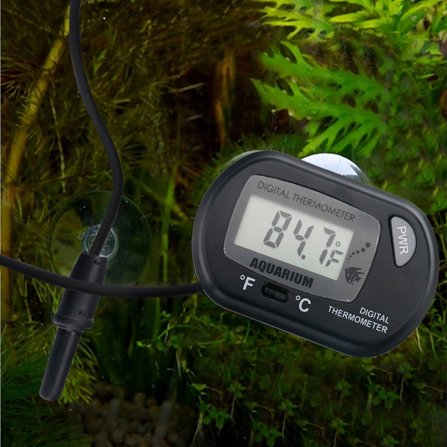 HDE LCD Digital Aquarium Thermometer