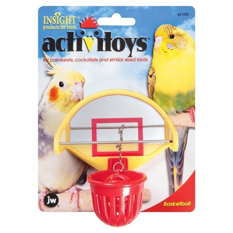 JW Pet Activitoy Birdie Basketball Toy