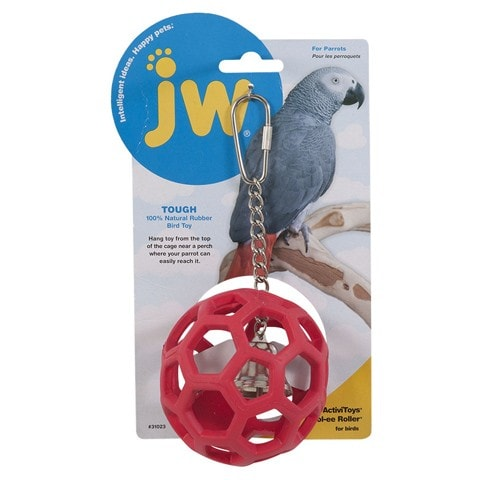 JW Pet Hol-ee Roller Bird Toy
