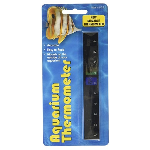 LCR Hallcrest A-1005 Vertical Aquarium Thermometer