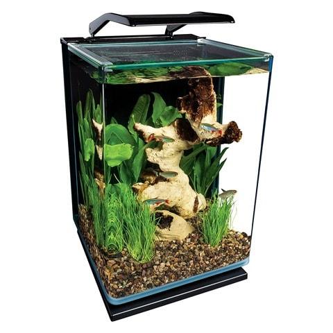 MarineLand Portrait Glass LED Aquarium