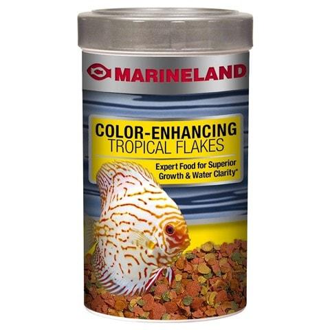 Marineland Color-Enhancing Tropical Flakes Fish Food
