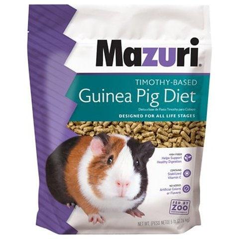 Mazuri Timothy-Based Guinea Pig Food