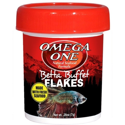 Omega One Betta Buffet Flakes Fish Food
