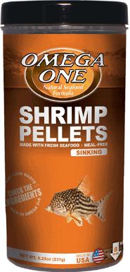 Omega One Sinking Shrimp Pellets