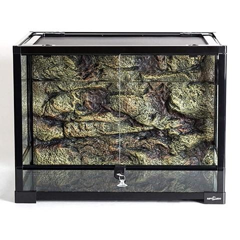 REPTI ZOO Large Reptile Glass Terrarium