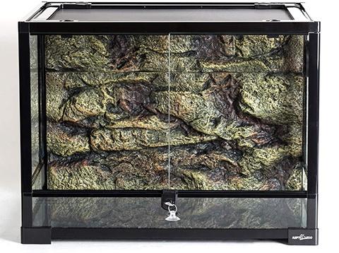 REPTI ZOO 34 Gallon Large Reptile Glass Terrarium