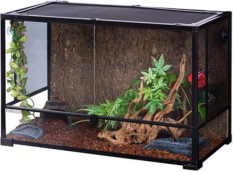 REPTI ZOO RK0119 Reptile Glass Terrarium