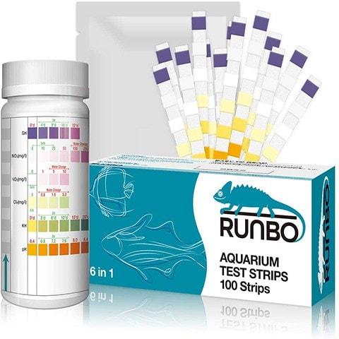 RUNBO Aquarium 6 in 1 Test Strips