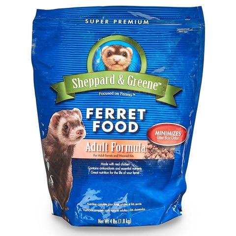 Sheppard and Greene 100034302 Adult Ferret Food
