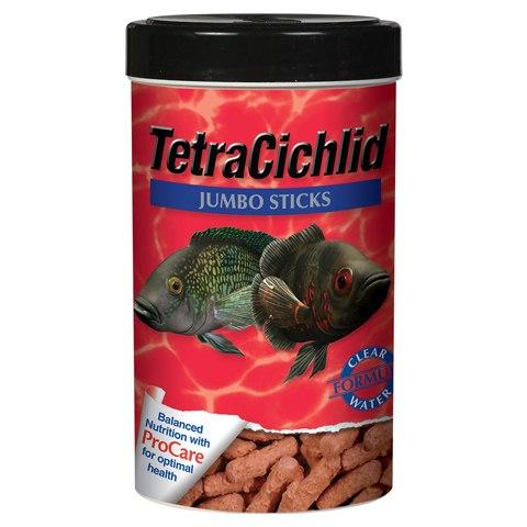 Tetra Cichlid Jumbo Sticks Fish Food