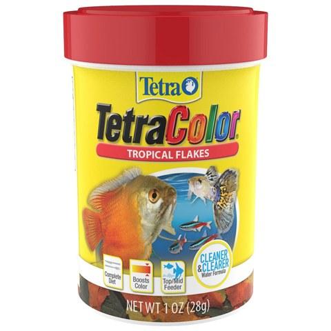 Tetra Color Tropical Flakes Fish Food