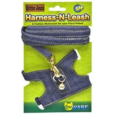 Ware 911285 Critter Jeans Harness-N-Leash